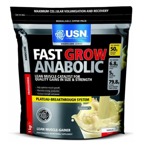 usn fast grow anabolic nutrition